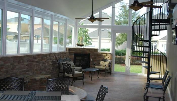 Orlando outdoor room