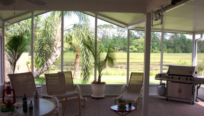 outdoor screen room