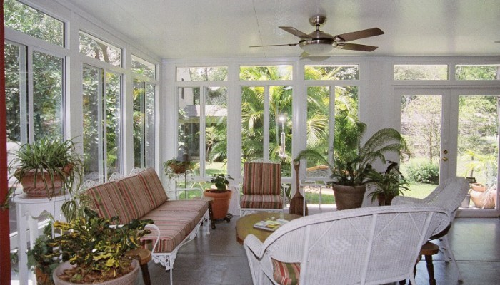 Naturally Bring the Outdoors, Indoors with Sunroom Construction