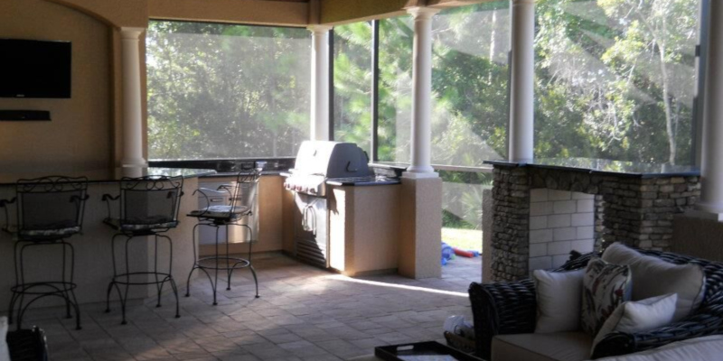 sunroom simulates being outside perfectly